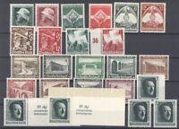 Dt. Reich, ** Posten aus 1935-37 auf Steckkarte (28979)