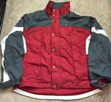 Vintage Tommy Hilfiger Windbreaker Jacket 90s Urban Fashion Hiphop Style XL Rare