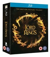 The Lord of the Rings  The Motion Picture Trilogy [Blu-ray] [3Blu Rays 3 DVD s]