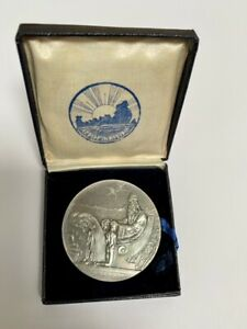 Iceland Medallic 1000 Years Althing Silver 10 Kronur 1930 UNC in Original Box