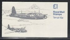 Great Britain Hurricane Wellington Military Aircraft Mnh booklet