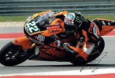 Sam LOWES SIGNED British MOTO2 Autograph 12x8 RACE Photo AFTAL COA Speed Up