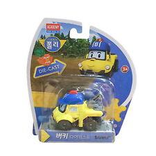 New Robocar POLI BUCKY Diecast Car Robot Genuine Toy Action Buggy Figure Academy