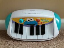 Elmo LET'S ROCK Sesame Street Piano Keyboard Musical Toy Hasbro Cookie Monster