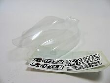 242000033 BittyDesign fighter buggy clear body shell w stickers 1:8 pour Xray 808