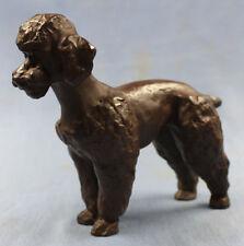 Pudel poodle Porzellan dog  hund porzellanfigur meissen böttger Steinzeug figur