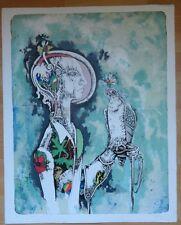 "Ehrenfried Viola - ""St. Bavo"" - Farblithographie - 1983  Nr.20/35"