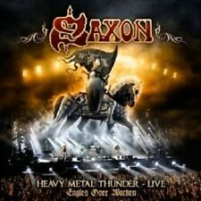 "SAXON ""HEAVY METAL THUNDER - LIVE-EAGLES OVER WACKEN"" 2 CD NEW+"