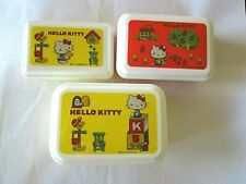 Hello Kitty Lunch Containers Lunchboxes Bento, 3 in 1, NEW
