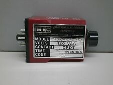 MEC Master Electronic Controls DBIK115A300B 300-Second Timer Switch 120V DPDT