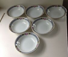 THOMAS WINDSOR BERRY BOWL SET OF 6 EXCELLENT CONDITION!