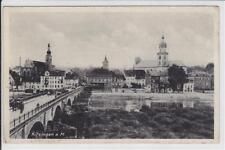 AK Kitzingen a. M, Brücke, Gasthof z. Stern 1939