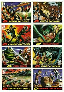 1994 Topps Mars Attacks Archives First Day Production You Pick Finish Your Set