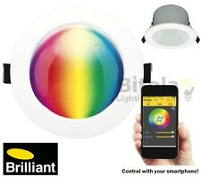 Brilliant Spectrum Bluetooth Colour Changing Globe B22 Base LED