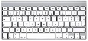Refurbished Apple Wireless Magic Keyboard 1 UK Layout (A1314)