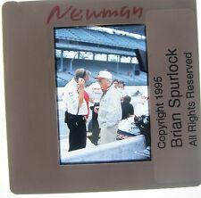 PAUL NEWMAN NEWMAN HAAS RACING HUSTLER WINNING STING INDY 500 ORIGINAL SLIDE 4