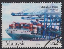d344) Malaysia 2004 Used. SG from ms1218 Ports of Malaysia. Ships