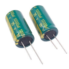 US Stock 2pc Electrolytic Capacitors 10000uF 10000mfd 35V +105℃ Radial 18 x 38mm