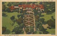 1940s Tulsa Oklahoma Philbrook Art Museum Teich linen postcard 8707