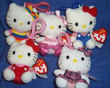 W-F-L   Hello Kitty  Schlüsselanhänger Stofftier zur  Auswahl  8 cm