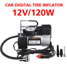 150PSI 120W Heavy Duty Air Compressor Car Tire Inflator Electric Pump Auto 12V