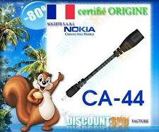 ADAPTATEUR CHARGEUR  ORIGINE CA44 NOKIA X3 X6 ET X7-00