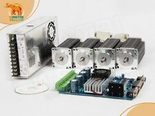 【USA Ship】4Axis 3D CNC Nema 23 Wantai Stepper Motor 270oz-in,3.0A,2ph Driver