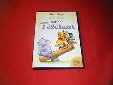 DVD Walt Disney  Winnie l'ourson et l'efelant   Losange Numero 79