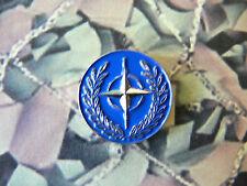 NATO Enamel Lapel Badge