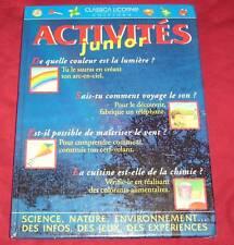 ACTIVITES JUNIOR / DAVID GLOVER / INFOS, JEUX...