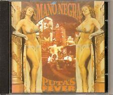 MANO NEGRA Puta's Fever 1989 FRENCH CD ALBUM MANU CHAO