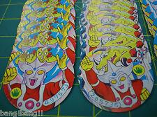 Ultraman Leo Tab Cards set Vintage 1970 Manga Comic Popy L@@K