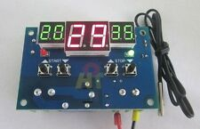 DC 12V digital led thermostat Temperature controller -9°C-99°C +temp sensor