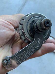 Vintage Sachs Torpedo Dreigang Rear Coaster Brake Bike Hub 36H 3 Speed 20T