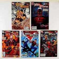 Teen Titans Dc 2003 Lot Of 5 Comics #1 Annual 24 30 33 34 (Vf/Nm)
