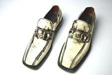 NEW SILVANO LATTANZI Dress  Leather Shoes  Size Eu 42.5 Uk 8.5 Us 9.5 (CG337)