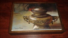 Original Ruben Franco Jaime still life oil painting-listed artist Fabulous