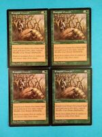 Rampant Growth 4X MP Tempest MTG Magic the gathering