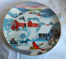 CHRISTMAS MORNING PLATE WORLD BOOK CHRISTMAS  SERIES BETSEY BATES