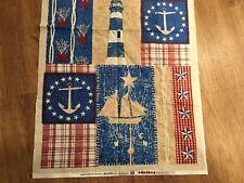 "Lighthouse - Nautical 23"" Wide X 42"" Long"
