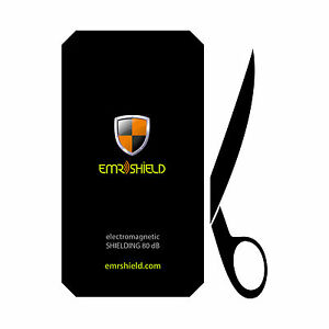 Anti Radiation Protection Shield for mobile cell phones EMF Plate up to 8x16 cm
