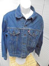 Vintage Levi's Denim Jacket Made In The USA SIZE 46 LARGE 700506-0217