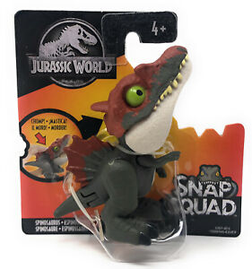 Spinosaurus - SNAP SQUAD - Jurassic World Fallen Kingdom Dinosaur GJR07 - NEW