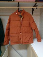 Trailwise Berkeley Men Winter Puffer Coat Jacket Orange size M