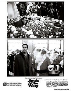 JINGLE ALL THE WAY Original 1996 press release kit Arnold Schwarzenegger