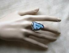 HANDMADE DRUSY AGATE RING  - Beautiful, Fashion Style,High Quality ,size 9.