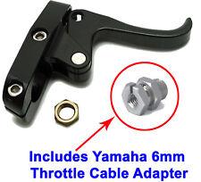 Wave-Runner Superjet Black Finger Throttle Lever CNC Billet & 6mm Cable Adapter