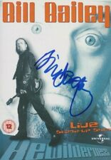 More details for bill bailey   **hand signed**  dvd  ~  autographed  ~  bewilderness