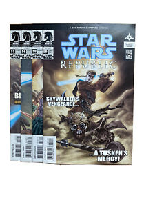 Star Wars Comics Republic Dark Horse 55 56 58 59 Lot Set Clone Wars