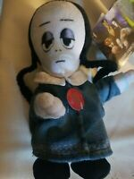 "NWT Animated & Singing 9"" Soft Plush THE ADDAMS FAMILY Runner - Wednesday Addams"